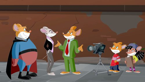 New Adventures of Geronimo Stilton Set for Knowledge Network – TVKIDS