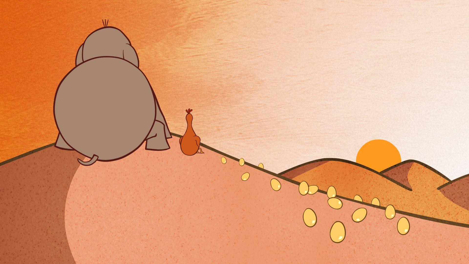 [:en]La Poule, l'Elephant et le Serpent (1)[:]