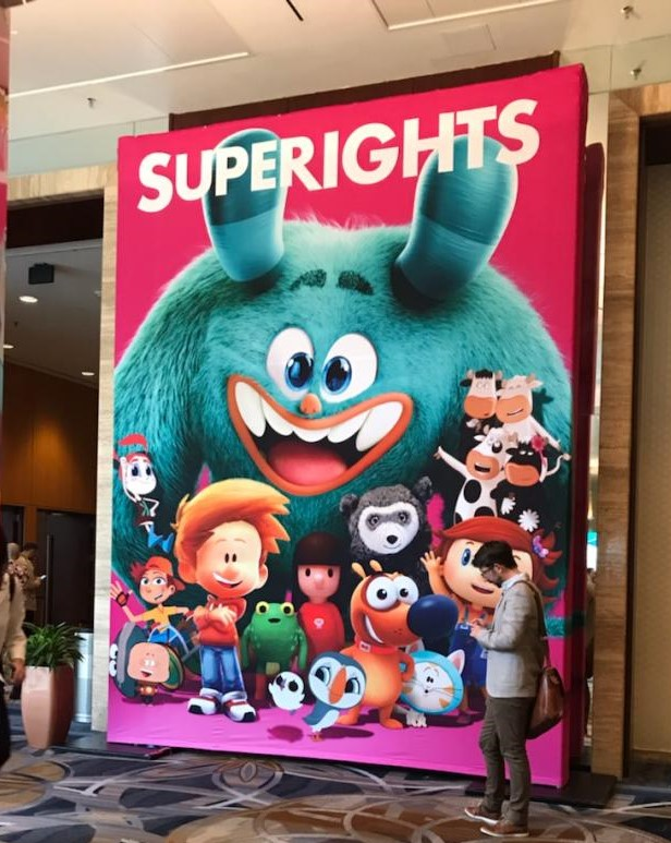 Superights at Kidscreen Summit, Miami!